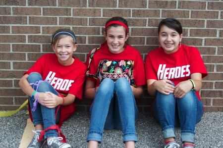 Last year's campers to this year's helpers!