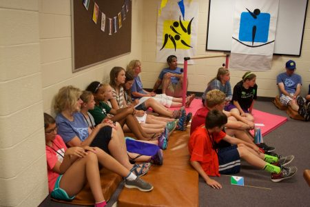 Our oldest campers learn more about sin, and God's perfect solution.