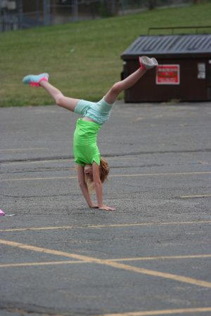 Future Olympic Gymnast - you never know!